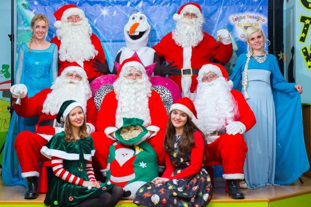 novogodišnji program i Deda Mraz