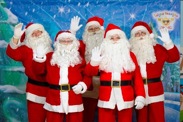 novogodišnji program i Deda Mraz Studio Željko Veseljko